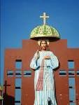 இந்தியாவிலே மிக உயரமான இயேசுவின் இறைஇரக்க திருவுருவ