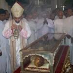 சனவரி, 4ம் தேதி வரை புனித பிரான்சிஸ் சேவியர் அவர்களின் உடல் திறந்து வைக்கப்படுகிறது